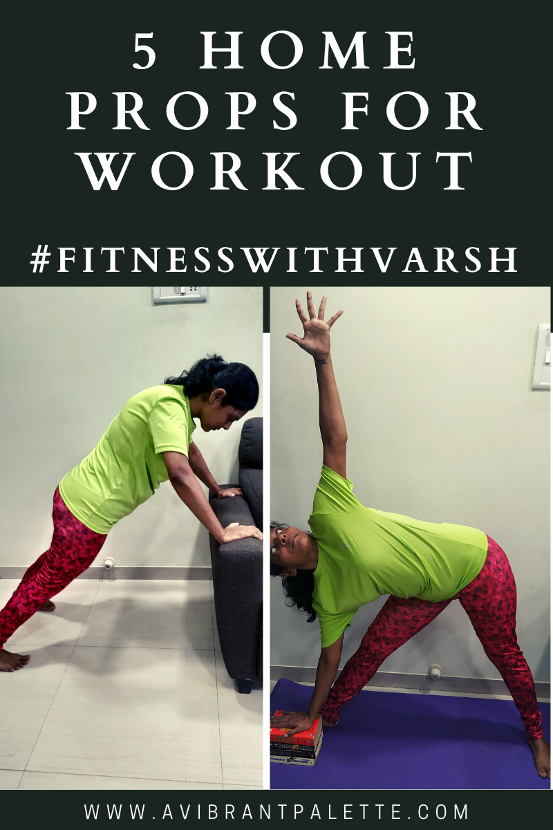 5 Home Props For Workout #fitnesswithvarsh - A Vibrant Palette